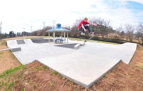Skatepark Construction Complete in Dalton, GA   Spohn Ranch