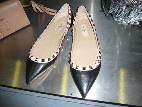 valentino stud shoes