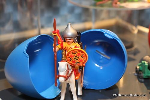 4926 Mongolian Warrior on horse
