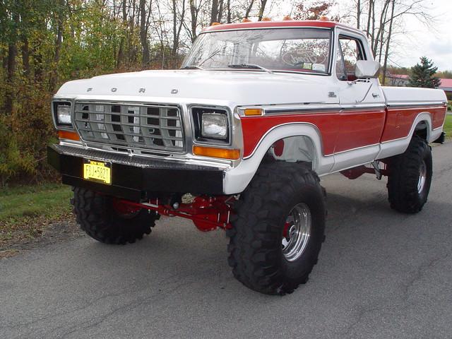 ford truck 4x4 400 1978 1979 f250