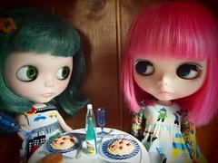 Pebble and Cindy