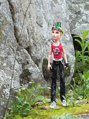 'Splorin (Prawnlegs) Tags: park toys outdoors dolls mattel deuce monsterhigh deucegorgon