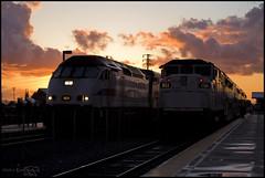 Meet at Montclair (K-Szok-Photography) Tags: california sunset canon outdoors socal canon5d montclair metrolink canondslr inlandempire scax sbcusa kenszok