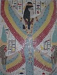 Issis (sergiomatosmartins) Tags: mosaico isis deusa anjo issis egpcia anjogabriel