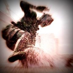Splash!                                                                                            **EXPLORED**442 (Tony Worrall) Tags: uk sculpture english wet water tom bronze photo carved football northwest image action north stock lancashire made figure use preston publicart splash sir league pne deepdale lancs sirtomfinney footballer englan nationalfootballmuseum prestonian ©2011tonyworrall