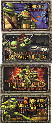 "PAPER MAGIC GROUP :: ""TMNT"" -  Random Valentines i (( 2007 ))"