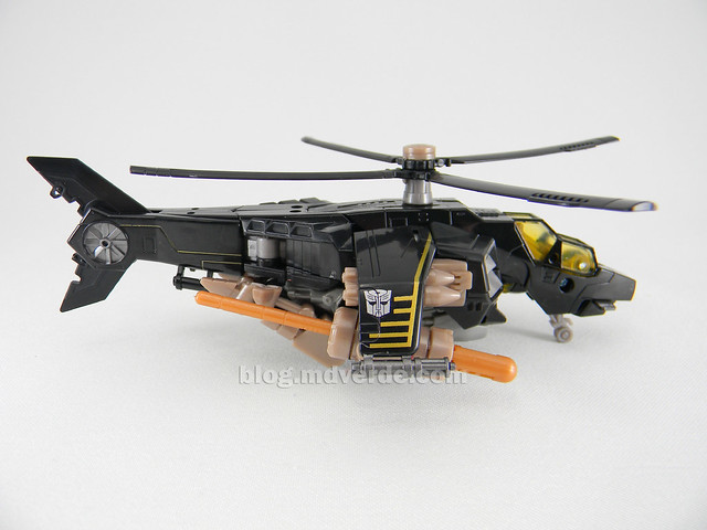 Transformers Tomahawk Hunt for the Decepticons Deluxe - modo alterno
