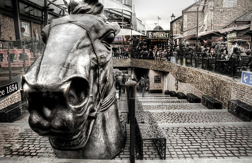 London. Horse head. Londres. Cabeza de caballo