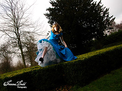 Alice In Wonderland 9 (Jemma Dodd Photography) Tags: fashion gardens birmingham alice dresses wonderland madhatter teaparty timburton aliceinwonderland jamespowell alternativefashion darkfairytale jemmadoddphotography minimummouse sjlush