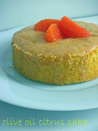 olive oil cirtus cake