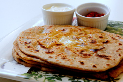 aloo paratha step by step recipe