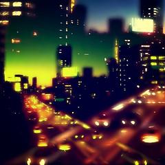 Night Urban Highway