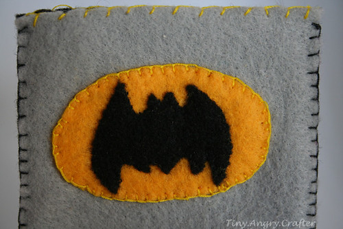Batman iPhone case detail