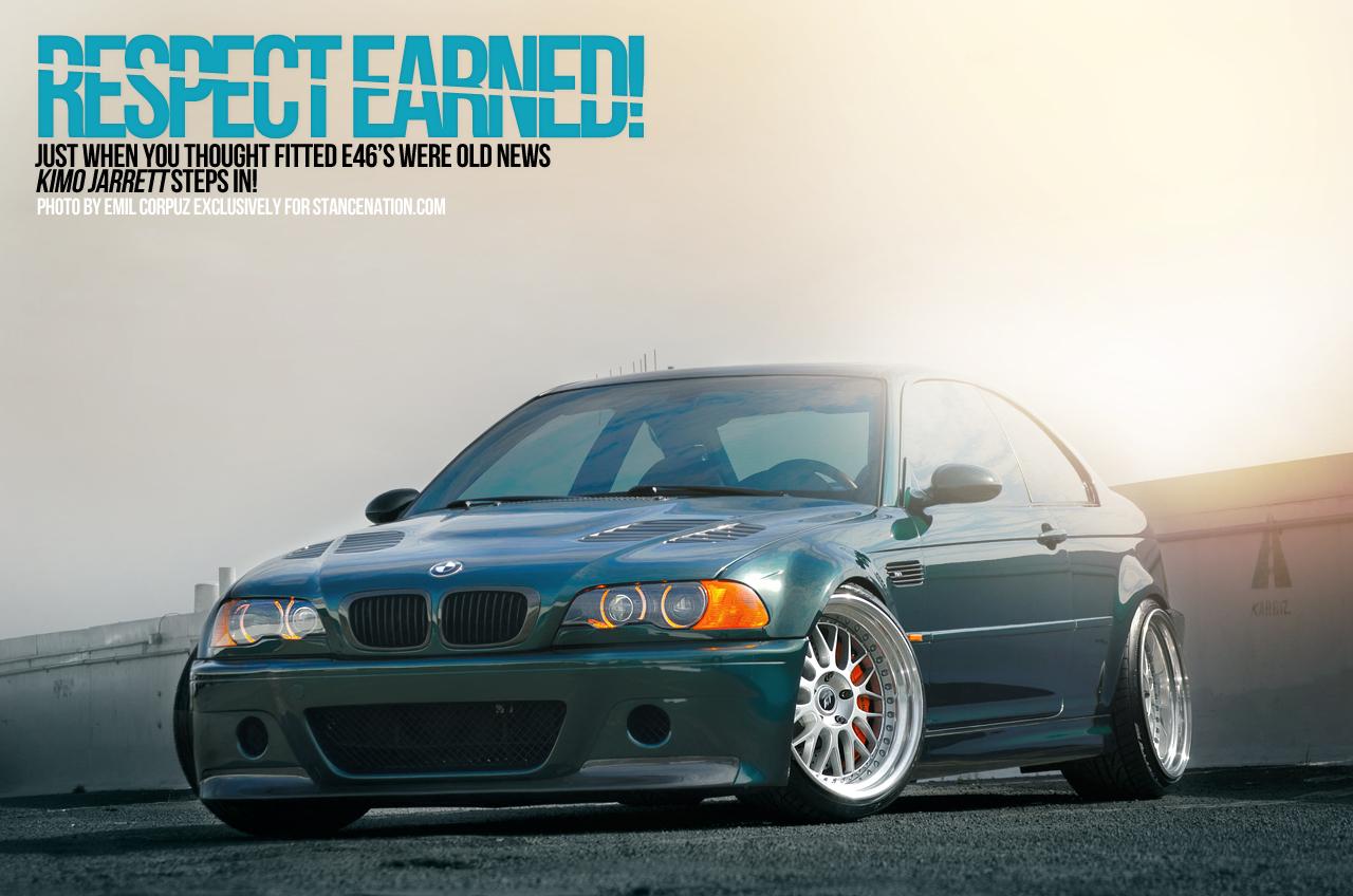 BMW E46 x Work Fitment