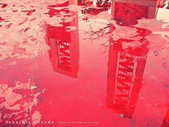 (dabashis) Tags: red two reflection architecture campus song brother shapes du architectural february martyrs pillars bangladesh minar bangla sacrifice 1952 shaheed redoxide mothertongue  internationalmotherlanguageday 21stfebruary martyrsday   bengalilanguage   canonixus95is    songof21stfebruary