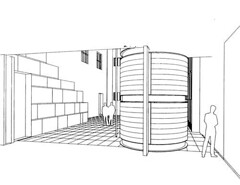 Proposed Courtyard View