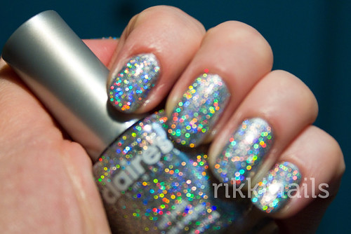 Claire's Glitter Top Coat 2