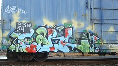 CARL (toxic waste dump) Tags: graffiti trains boxcar freight goldenwest