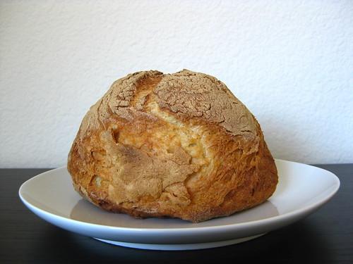 no-knead bread (gluten-free)