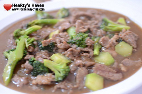 estero beef with broccoli