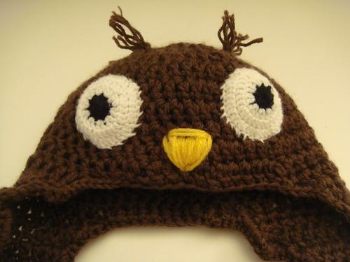 Haut du bonnet-hibou #1