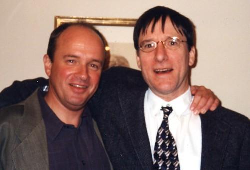 David Henner and Robert DeBlois in 2001
