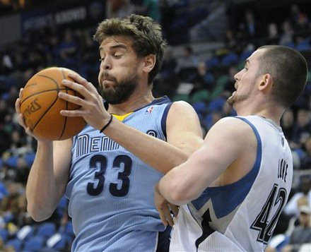 Grizzlies Timberwolves Basketball