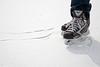 Fresh Ice (ICT_photo) Tags: winter snow canada ice hockey pond canadian skates laces ictphoto gettyimagescanada ianthomasguelphontario