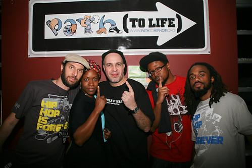 Popmaster Fabel with Path To Life Crew, Brimstone127, Natta, LaGuardia and Sekajipo