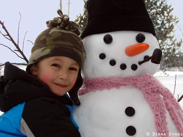 February 25th 2011 - snowman day 031