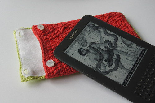 Crochet Kindle Cover