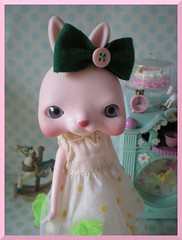 clementina (teddy&balocchi) Tags: pink horse pet cake shop butterfly fly wanda outfit doll little handmade wing frog petal pony ment polly blythe re pocket enchanted pois hasbro tokissi