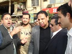 Alaa Al Aswani at Tahrir