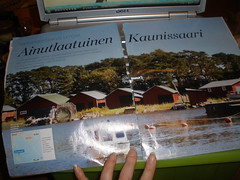Kaunissaari article from Helja