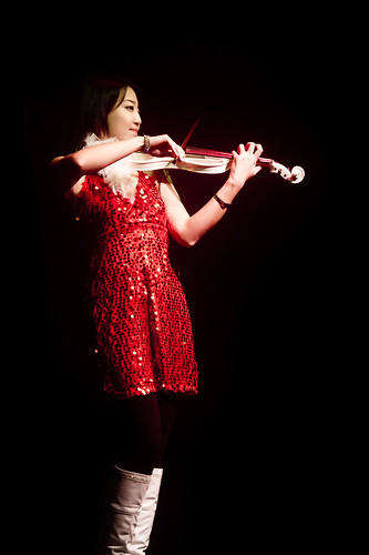 Violin performance in Harbin (哈尔滨)