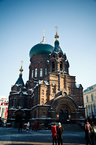 Sophia Cathedral in Harbin (哈尔滨)