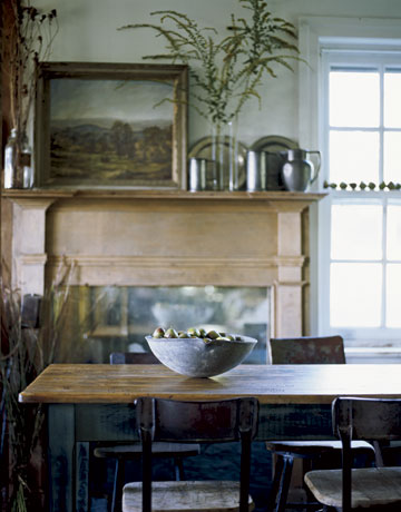 earthy dining country living