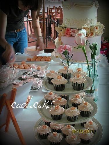 my peach cupcakes