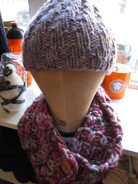 Hat and cowl
