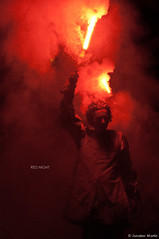 red night (CUAK! Pictures) Tags: madrid espaa noche carnaval fuego recoletos teatrocallejero espaa lorcanpictureslorcannikond90