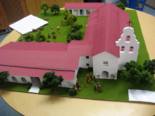 California missions models for fourth grade student project pool