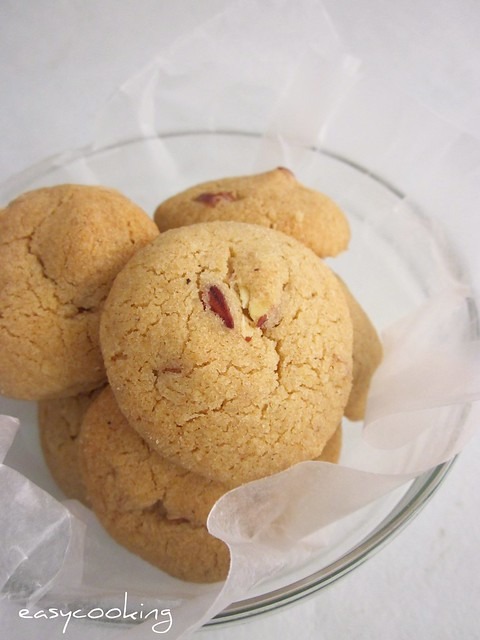Easycooking: Eggless Whole Wheat Almond Cookies