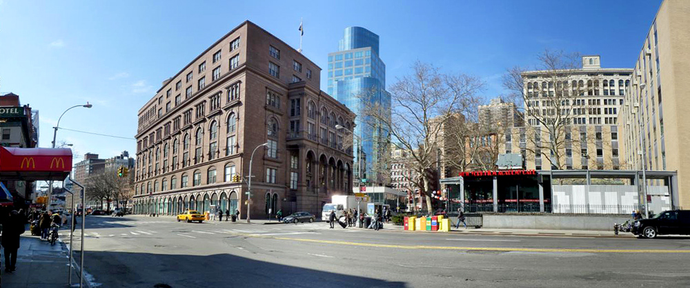 Astor Place Panorama