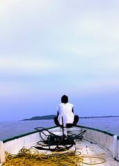 to Gili Island (Surya Nanggala / Sonny) Tags: sea boat laut lombok gilitrawangan kapal
