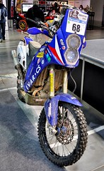 Yamaha WR450F Paris-Dakar 2011 (Jan Veselý) (The Adventurous Eye) Tags: all similar stuff yamaha wr450f parisdakara janveselýmotosalon 2011motosalonmotorcycles