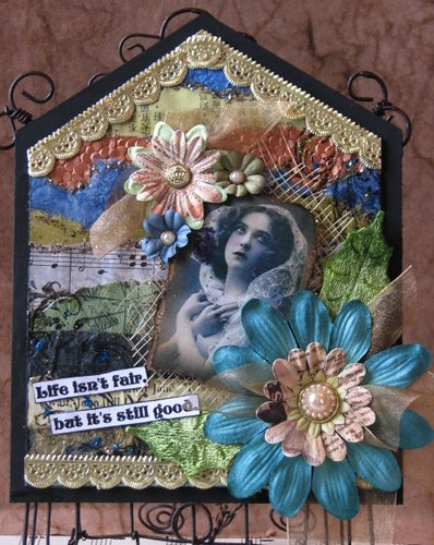 Mom Gothic Arch Book #1 - Segmented Collage 018