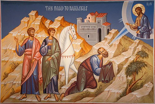 St. Paul on road to Damascus by bobosh_t, on Flickr