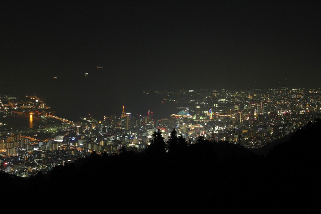 Rokkosan Night View Photo (3)
