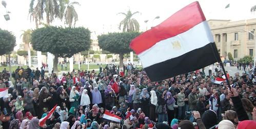 الطلبة تريد تطهير الجامعات-تصوير داليا العقاد