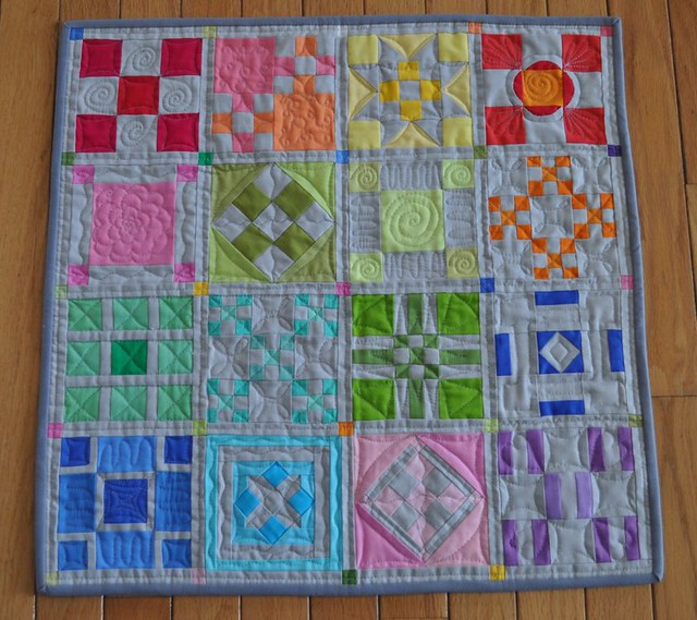 No Prints Allowed challenge quilt